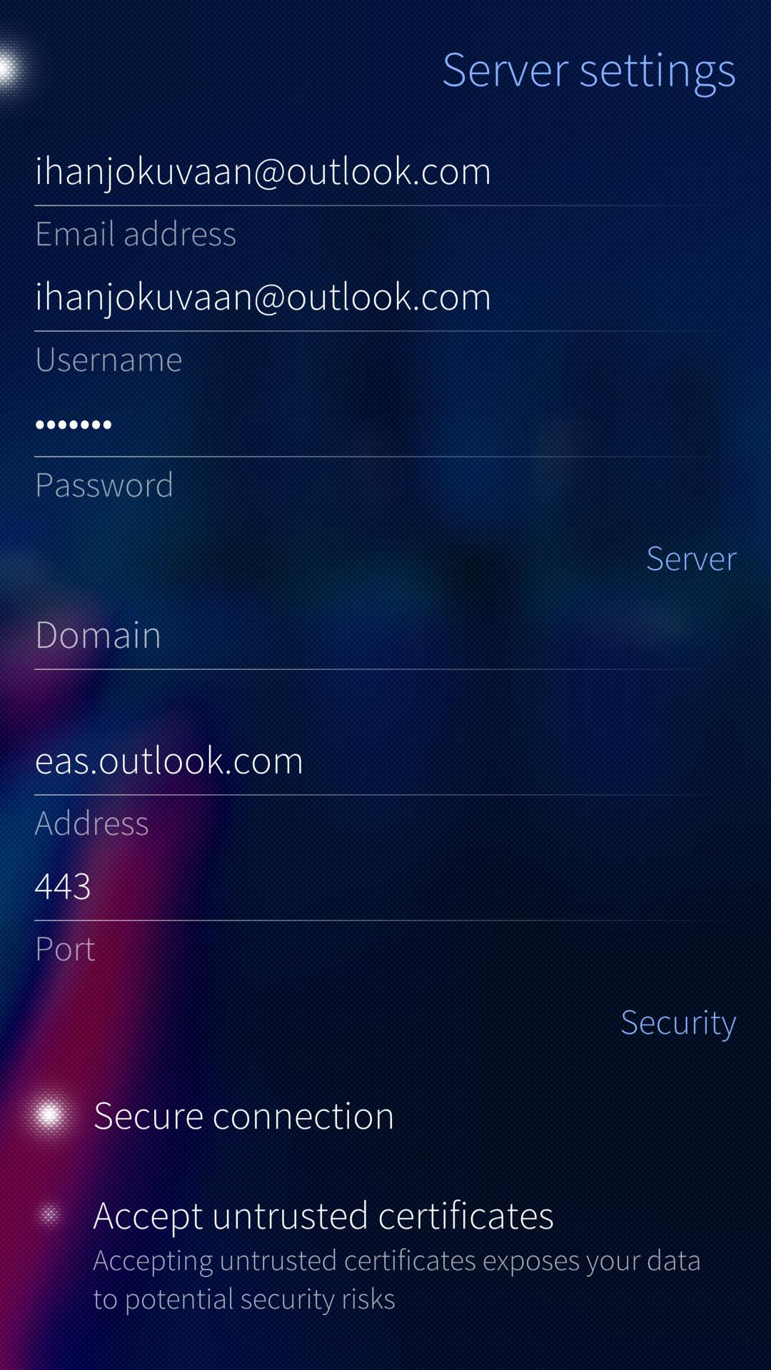 Setting up an Exchange account on Sailfish – Jolla Service