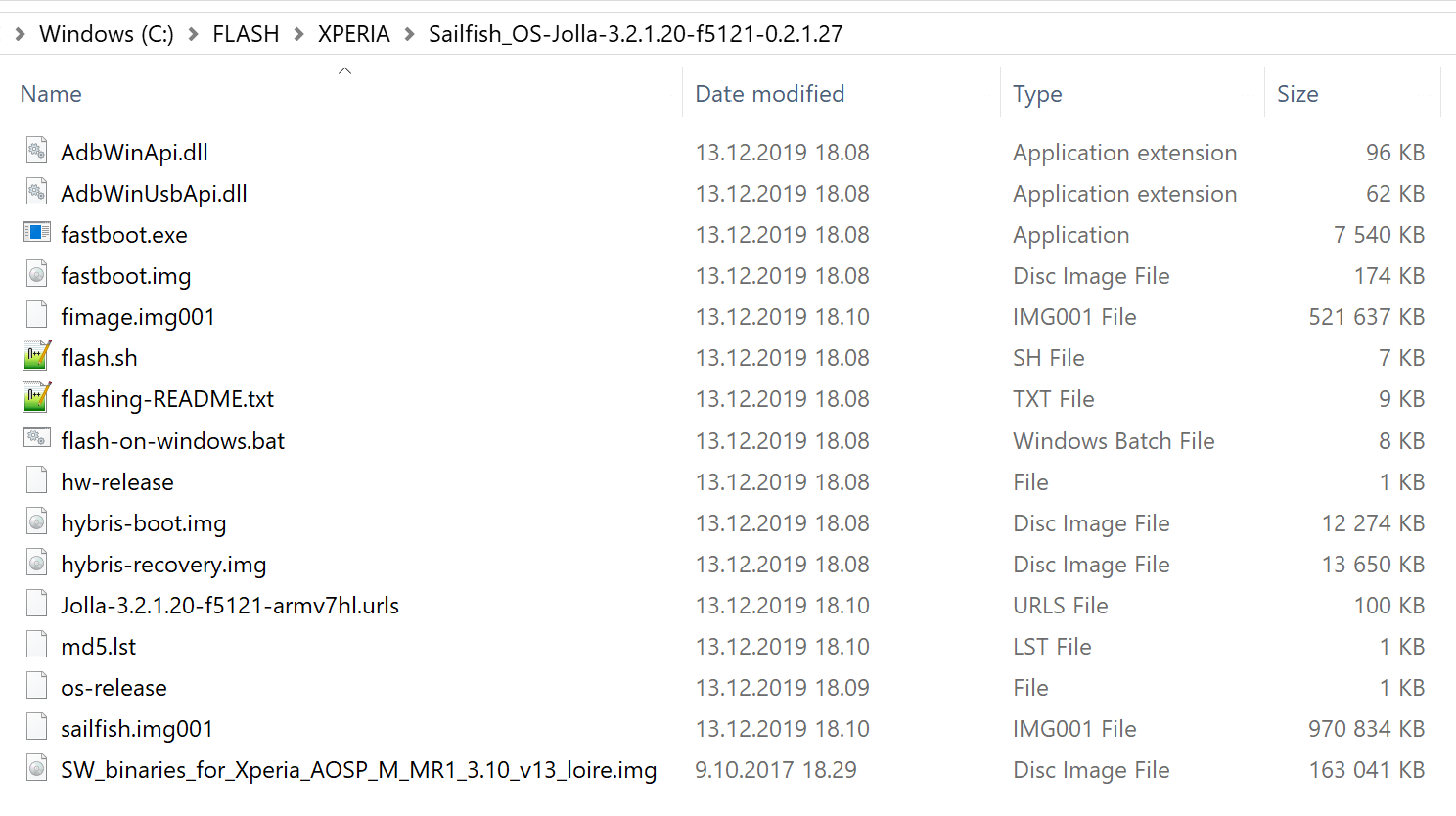 Contents_of_Sailfish_3.2.1_directory_for_Xperia_X.png