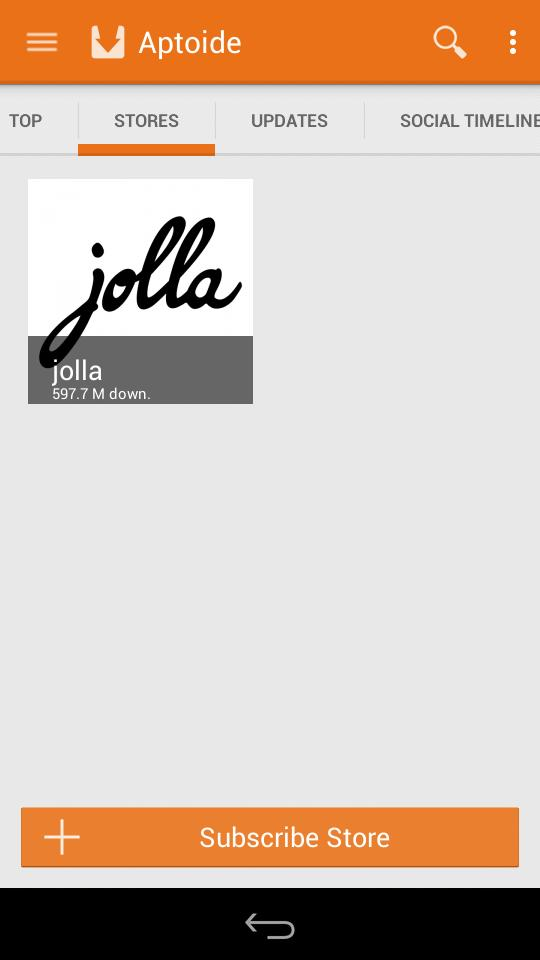 How do I install Android apps from Aptoide Store? – Jolla